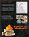 Buy It Where You Burn It Poster: Polyphagous Shot Hole Borer (PSHB)